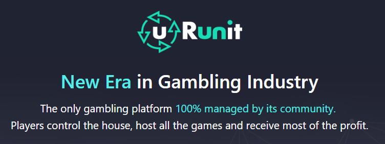 U Run It - A community managed online gambling platform