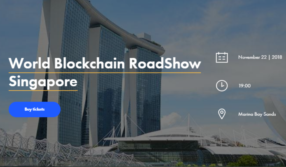 world blockchain roadshow
