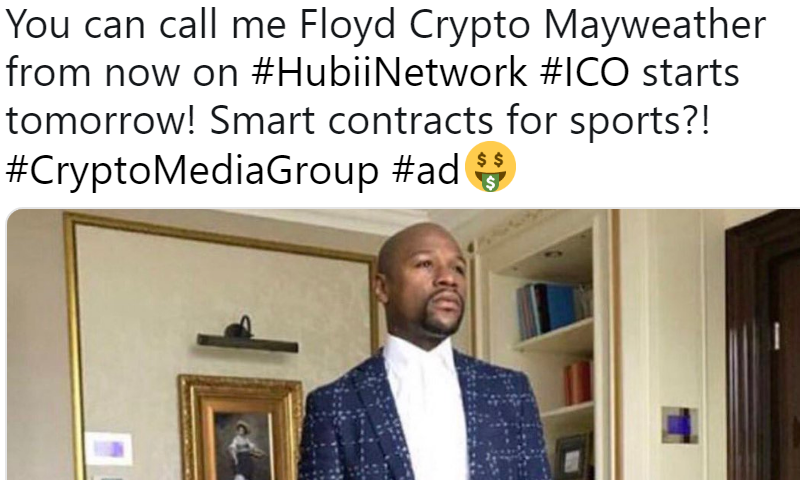 celebrities and crypto