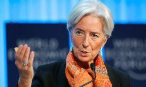 Christine Lagarde praised blockchain technology