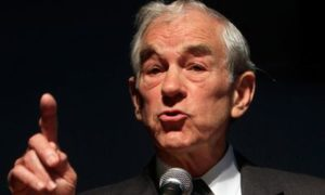 "Ron Paul: US FRS is going to ""kill"" dollar; gold and crypto are salvation"